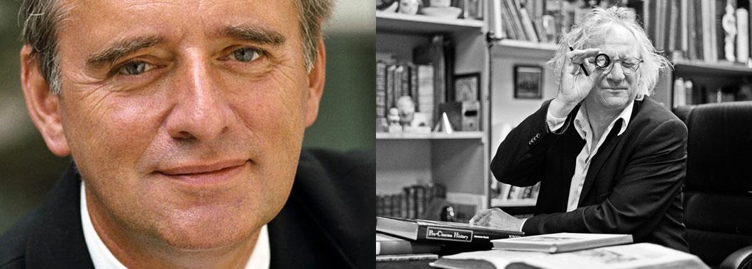 Prof. Horst Königstein und Prof. Dr. Siegfried Zielinski waren die Dozenten von Rolf-Peter Schmidt aka Thee Balancer während seines Studiums an der Kunsthochschule für Medien in Köln.