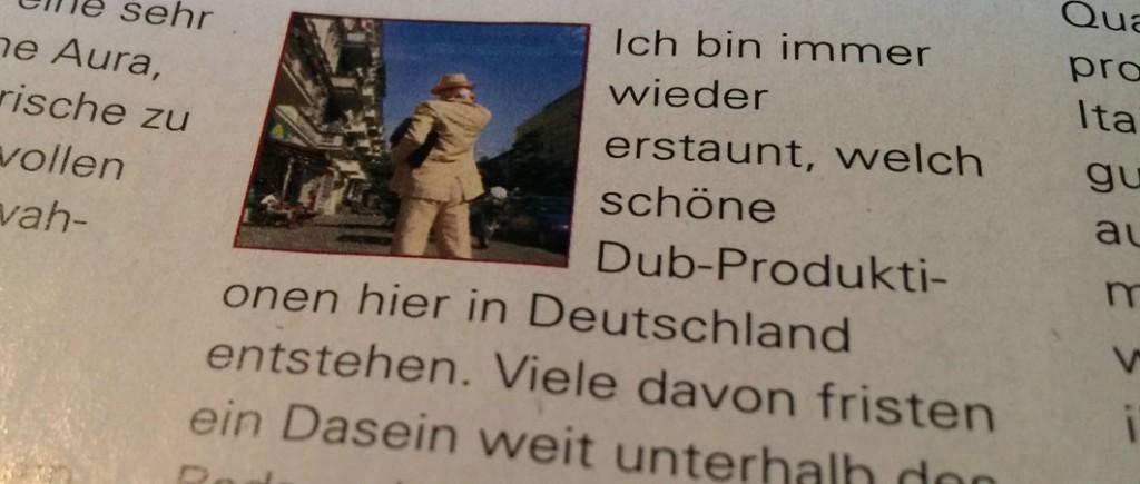 Der Kritikerpapst zum Thema Dub im deutschsprachigen Raum, René Wynands lobt das Album Back To Westmoreland von Thee Balancer in der aktuellen Ausgabe des Reggae Magazins RIDDIM.