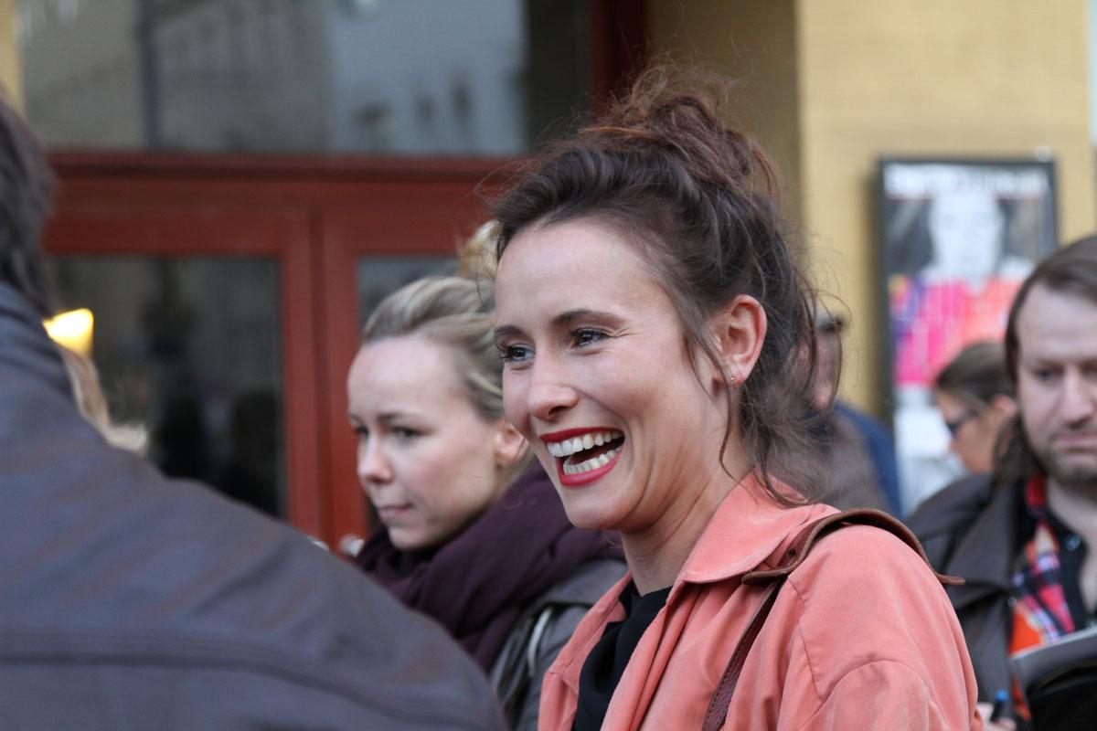 """Peri Baumeister spielt die Rolle der Teresa in """"Oregon Pine"""""""